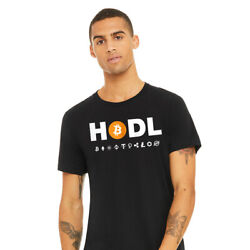 BEST QUALITY BITCOIN HODL SHIRT Bitcoin Ether Cardano Crypto Currency Black