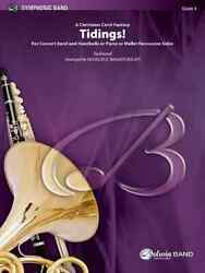 Tidings For Concert Band And Handbells, Piano, Or Mallet Percussion Solos