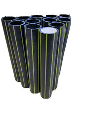 24 Hdpe Mortar Tube 2andrdquo Dr11 For 1.75 Canister Shells Balls 13.5andrdquo Long. 5andrdquo 6andrdquo