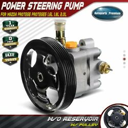 Power Steering Pump W/ Pulley For Mazda Protege Protege5 1.8l 2.0l 99-03