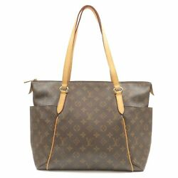 Authentic Louis Vuitton Monogram Totally MM Tote Bag M56689 Used FS  $825.00