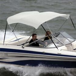 Shademate Bimini Sunbrell Top Fab And Boot,3bow,36h,6'l,85-90w-ov80219aw Natural
