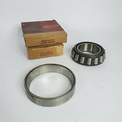 31-36 Plymouth Dodge Desoto... Differential Bearing Cone And Cup 698398 698397 Nos