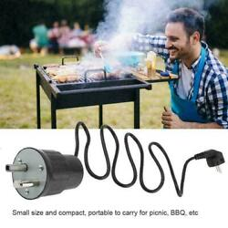 Aluminum Electric Bbq Grill Rotating Motor Barbecue Rotisserie Rotator Engine