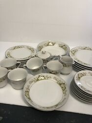 Wellin Fine China Glendale Pattern Dinner Set 5756 Replacement Tableware Japan