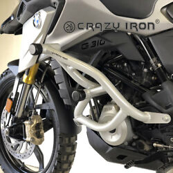 Crazy Iron Bmw G310gs Engine Guard Cage Pro And Subcage