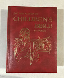 The New Illustrated Childrens Bible In Stories By Reverend Dr. J.f. Allen