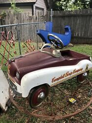 Gearbox Reproduction Campbell Soup Company Peddle Car Excellent Condition