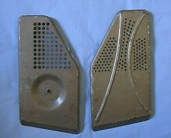 Vintage Side Covers Parts For Philco Car Radio Model C4608-122