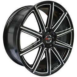 4 G42 Mod 20 Inch Black Rims Et20 Fits Jeep Grand Cherokee Limited 2014-2019