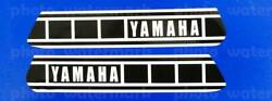 1980 80and039 Yamaha Yz50 Perforated Fuel Tank Decal Sticker 2x10 3/4 Yz50g Graphic