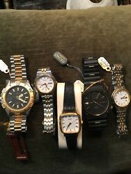 Seiko And Citizen Mens And Ladies Brand New Wrist Watches As An Entire Lot