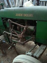 Vintage John Deere 1010 Tractor 1962 Been In Barn For Years -----pick Up Only