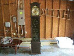 Rare And Vintage German Hapeanker Westminster Grandfather Clock - Good Condition