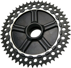 Alloy Art - Ucc49-11 - Universal Drive Chain Conversion System With Black Anodiz