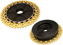 Alloy Art - Ucc53-12 - Universal Drive Chain Conversion System With Black Anodiz