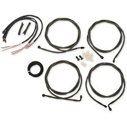 La Choppers - La8054kt213m - Complete Handlebar Cable/brake And Clutch Line/wire K