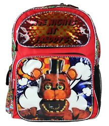 Five Nights At Freddy#x27;s 16quot; Backpack Boys Red $24.99