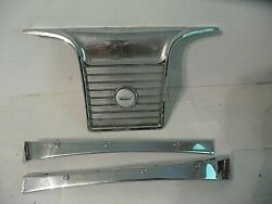 1965 Ford Galaxie Convertible Rear Speaker Grill And Rear Seat Top Trim C5ar76601a