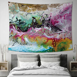 Wall Hanging Tapestry Abstract Hippie Bedspred Home Bedroom Wall Decor