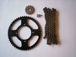 Honda Crf125f New Sprocket And Non O-ring Chain Set 13/46 14-18 Small Whl