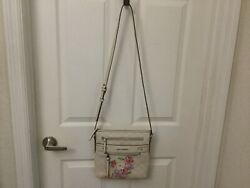 Womens Lovely Floral Front Crossbody By Dana Buchman 6 Different Pockets $9.99