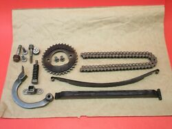 Oem 1974 Honda Cl360 Camshaft Timing Chain Tension Guide Assembly Complete