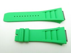 Richard Mille Rm1103 Green Rubber Strap Rm11m Brand New Super Rare 100 Factory