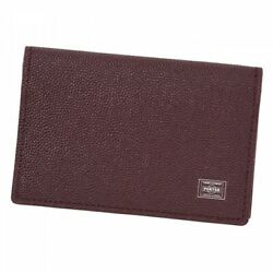Yoshida Porter Bag Able Card Case 030-03086 Bordeaux Red From Jp M442