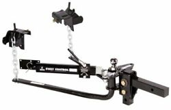 Husky 30849 Round Bar Weight Distribution Hitch With Sway Control New Free Ship