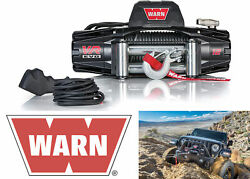 Warn 103254 Vr Evo 12 Electric 12v Dc 12000lb Winch With Steel Cable Wire Rope