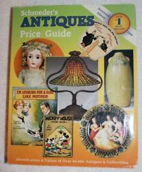 Schroederand039s Antiques Price Guide Seventeenth Edition Paperback 1999