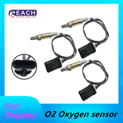 3pcs O2 Oxygen Sensor Downstreamandupstream Front Right+left Fit For Chevy Gmc