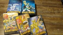 Saint Seiya Collection 1 2 And Dvds 9-12 - Sealed Adv Release Complete Us Ver