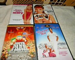 Dvd Lot Of 4 Flamingo Kid, Pieces Of April, Something About Mary, South Park