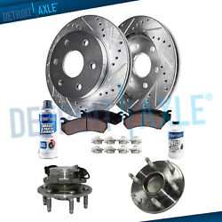 330mm 2wd Front Drilled Brake Rotors Pad Kit For Chevy Silverado Gmc Sierra 1500