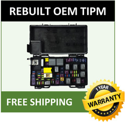2012 Jeep Grand Cherokee Oem Rebuilt Tipm Fuse And Relay Box 68244870