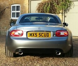 Mx5 5cud Private Cherished Plate As In Scud Missile