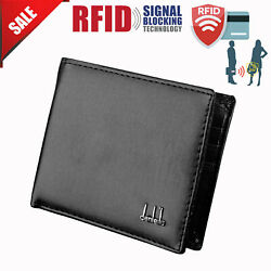Mens Bifold Wallet Leather Money Purse Credit Card ID Card Holder Slim Clutch. $4.29