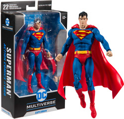 SUPERMAN ACTION COMICS 7 inch Action Figure DC Multiverse McFarlane