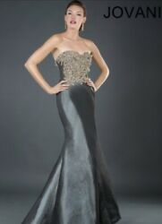 Jovani 2140 Evening Gown Authentic Formal Mother Of The Bride-groom Dress Size20