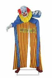 Halloween Looming Clown Haunted House Entrance Walkthrough 10ft Archway Prop