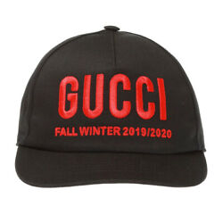 AUTH Gucci Real Baseball Cap Hat Embroidery Unisex Size M 596211 3Hi49 _6425