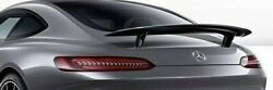 Mercedes-benz Oem C190 Amg Gt Coupe Fixed Static Spoiler Wing Amg Black New