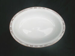 Wedgwood Colchester Open Oval Vegetable Dish. 10andfrac14 X 7 5/8 Inches