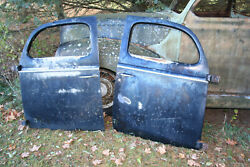 1937 1938 1939 1940 Ford Coupe Fordor Doors Pair Oem Nice