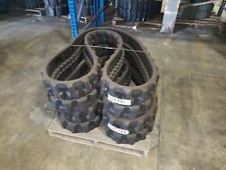 Set Of Summit Used 12 Rubber Tracks - Free Shipping - 300x52.5x92