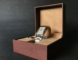 Coach W502b 5.535.387 Stainless Steel Water Resistant 3 Atm
