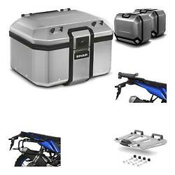 39677 - Lateral Cases + Back Trunk + Big Top Fitting + Grill Terra + 4p Hardware
