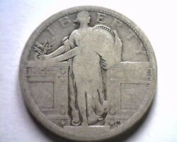 1917 Type 1 Standing Liberty Quarter About Good Ag Nice Original Coin Bobs Coins
